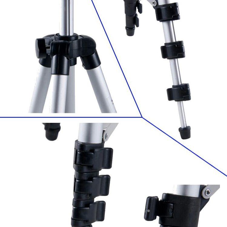 WT-3110A beweglicher leichten Telefon-Kamera-Stativ-Kugelkopf-Halter mit Tragetasche für Canon Nikon Sony DSLR-Kamera-DV hohe Qualität