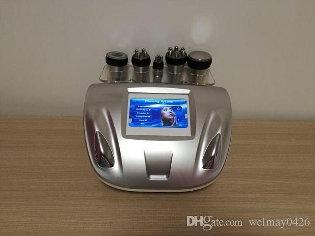 adelgazamiento profesional ultrasónica rf cavitación máquina de la terapia de vacío a tope de vacío de elevación