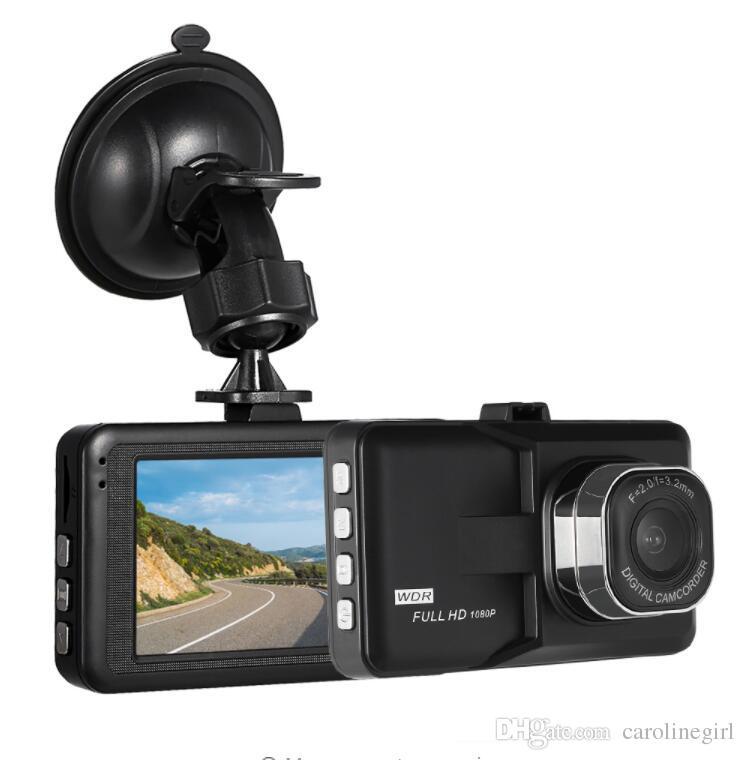 "KKMOON 3"" Car Dash Camera Video Recorder Car DVR Camcorder Night Vision / Motion Detection / Loop Recording"