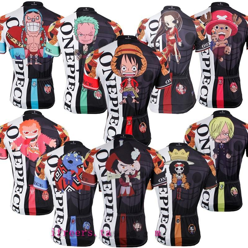 Novelty Animation Cycling Jersey Funny Cartoon Cycling Wear One