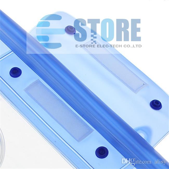 Blau Wasserdichte Digitalkamera DSLR Fall Tauchen Schwimmenden Beutel Gehäuse Dry Bag Für Canon Für Sony Für Nikon D7000