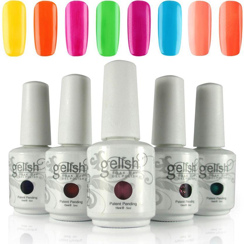 15ml 100% Brand New Nexu Gelish Nail Polish Soak Off Uv Nail Gel ...