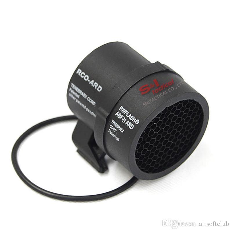 Lunette optique de fibre optique Trijicon ACOG 4x32 avec réticule de visée à fibres optiques véritablement rouges / vertes, livré avec Kill Flash