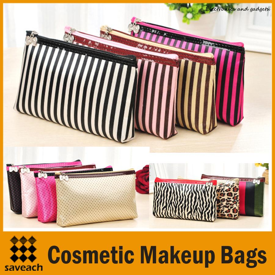 194367f0f3c4 Women s Makeup Cosmetic Cases Fashion Travel Kit 18 Colours ...