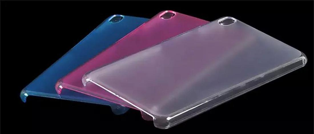 PC Back Cover for Lenovo PHAB PB1-750N PB1-750M PB1-750 Tablet 6.98 inch Hard Case + Screen Protector Protective Film