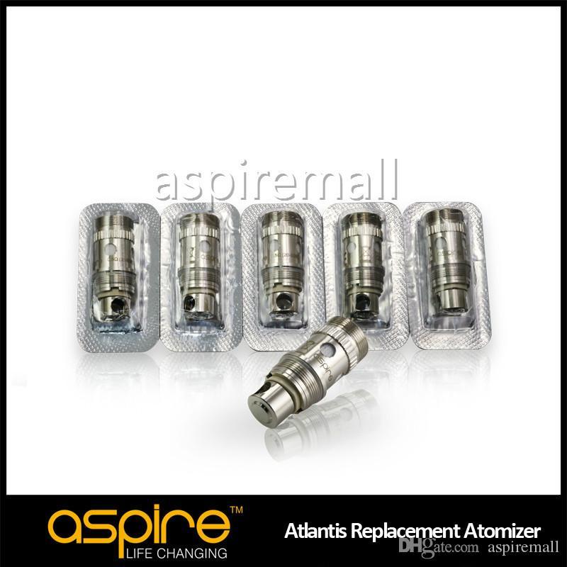 Popular Original Aspire atlantis bobinas cabeça com patenteado nuvem tecnologia BVC vapor bobina atlantis para o tanque Aspire atlantis / triton 2