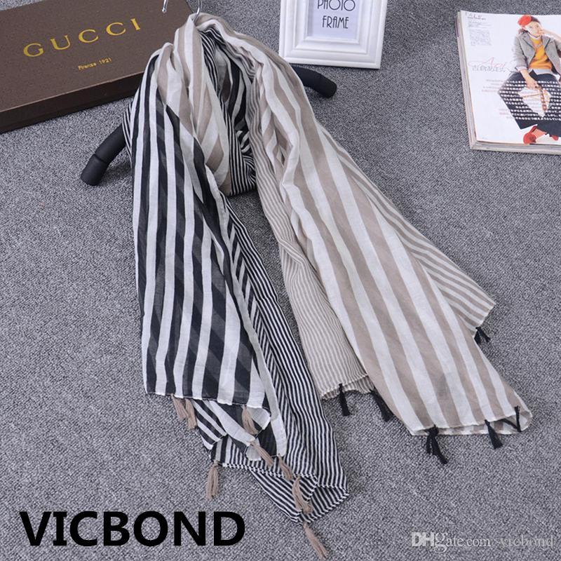 New autumn winter cotton stripe solar system fresh woman scarf sunscreen warm shawl pashmina fashion Muslim hijab 10pcs/lot