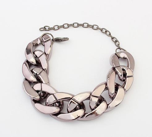 Designer Padlock Bangle Bracelet Fashion Jewelry European Style Simple Chain Bracelets Gold Silver Women Bracelets Charm Chains Jewellry