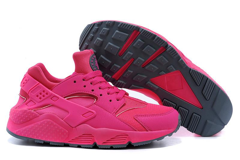 dafcb830e454 Hot Sale New Colors Pink Air Huarache High Quality Women S Sneaker Pink  Sneakers Breathable Running Shoes Huaraches Size 36 39 Shoes For Sale Trail  Shoes ...