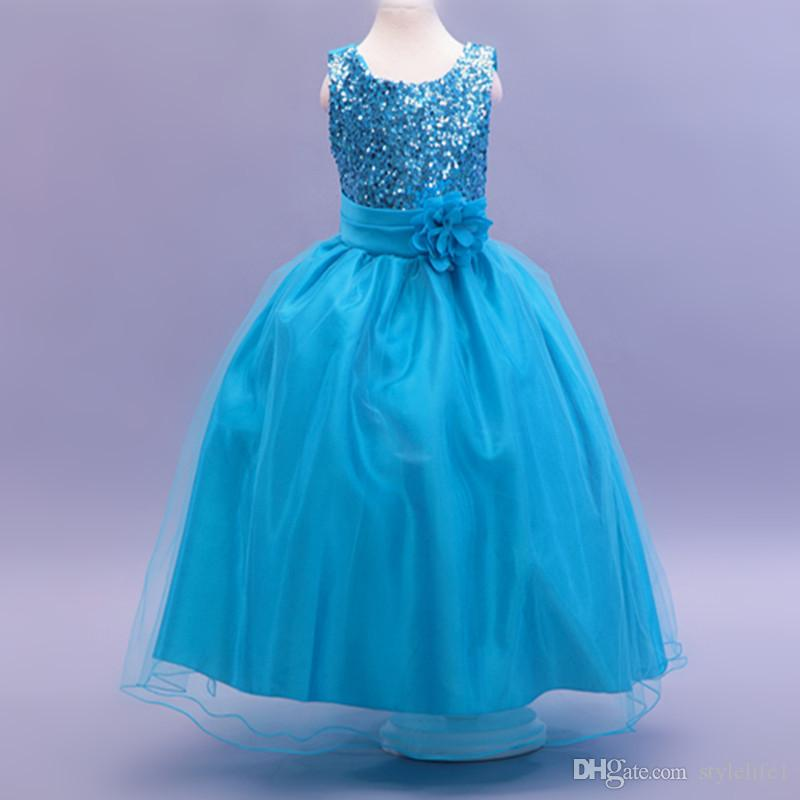 2015 Newest Kids Wedding Dresses, Pageant Party Dresses Girl, Baby ...