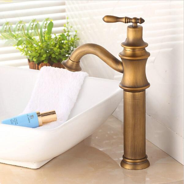 Online Cheap Antique Copper Faucet Brass Antique Bronze Bathroom - Antique bronze bathroom fixtures