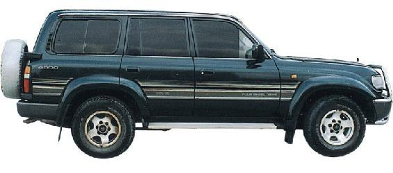 Toyota Land Cruiser Jeep Rand Road, Chak Cool Fzj100 98 Subsection