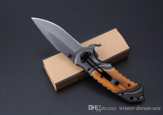 Facas táticas Pasta Necessidade Diária Ferramenta EDC Browning X49 Assistida Abertura Tático Faca Dobrável Lenght Completo 7.80 Polegada B212Q