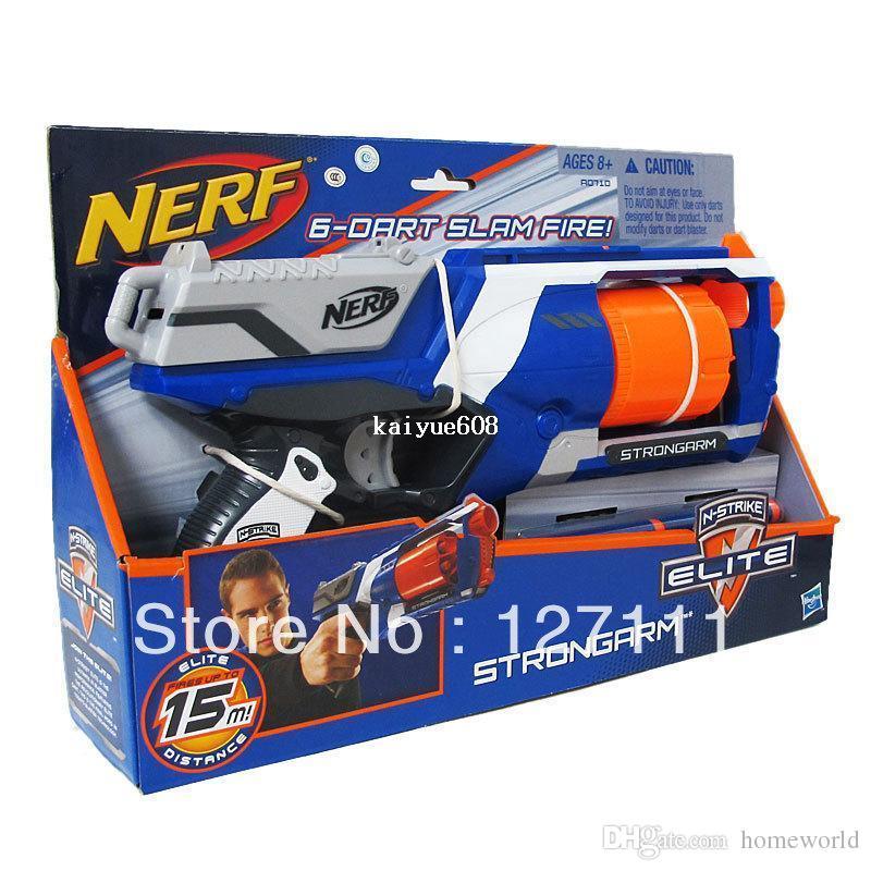 New Arrival Nerf N-strike Elite Series Toy Gun Soft Bullet Header NERF Gun  Powerful Transmitters Gun Range 15M Toy Guns Cheap Toy Guns Free Shipping  New ...