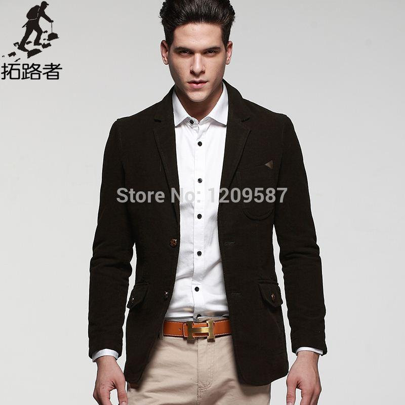 Discount 2015 New Fashion Men Blazers Mens Suit Coat Casual Suits ...