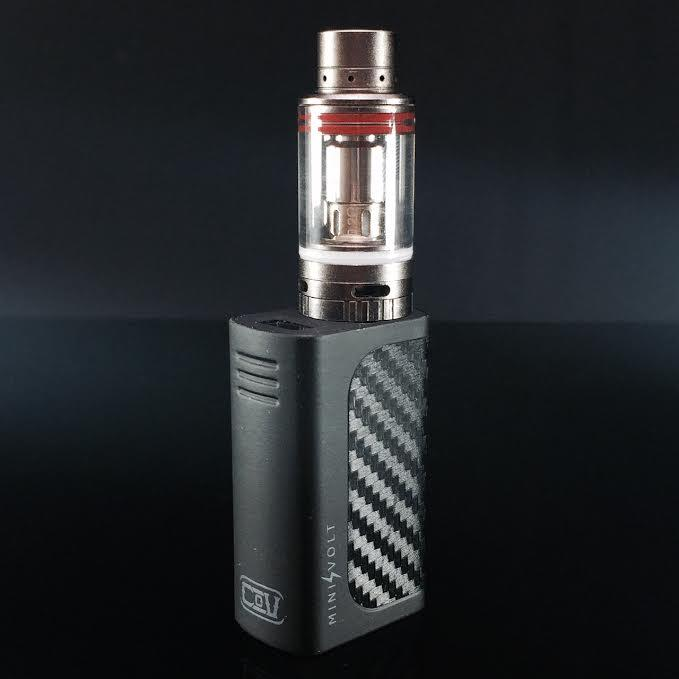 100 Authentic Cov Mini Volt Kit 40w In Black With Mini Volt Box Mod