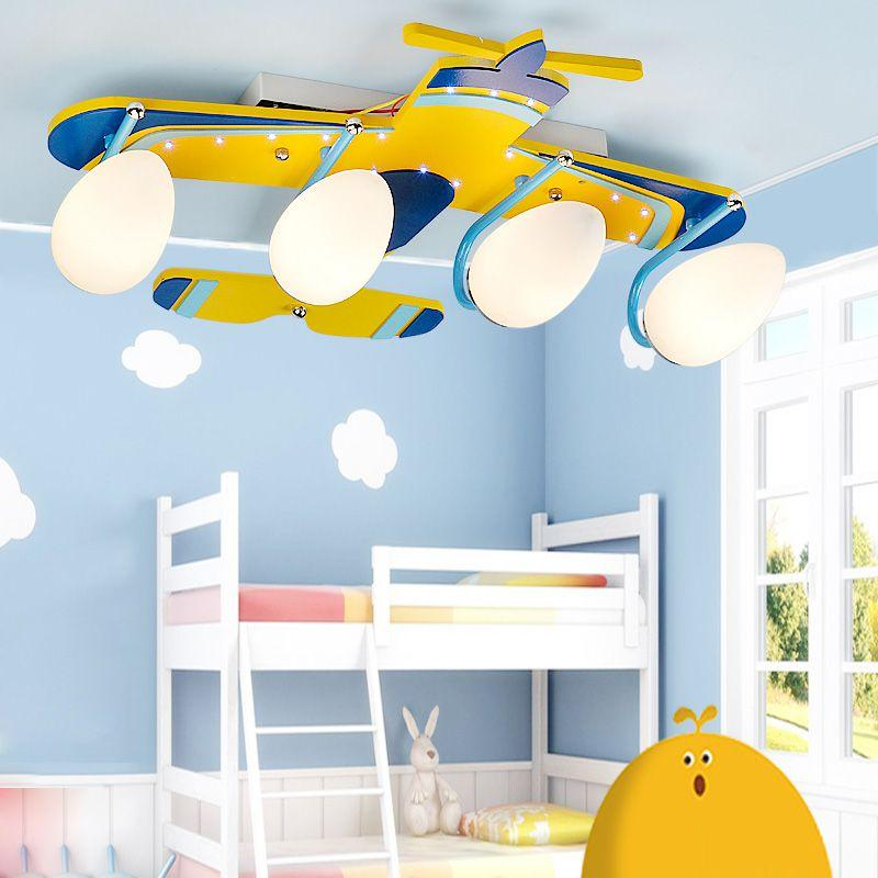 boys bedroom ceiling lights best yellow airplane baby room ceiling lamp 14641