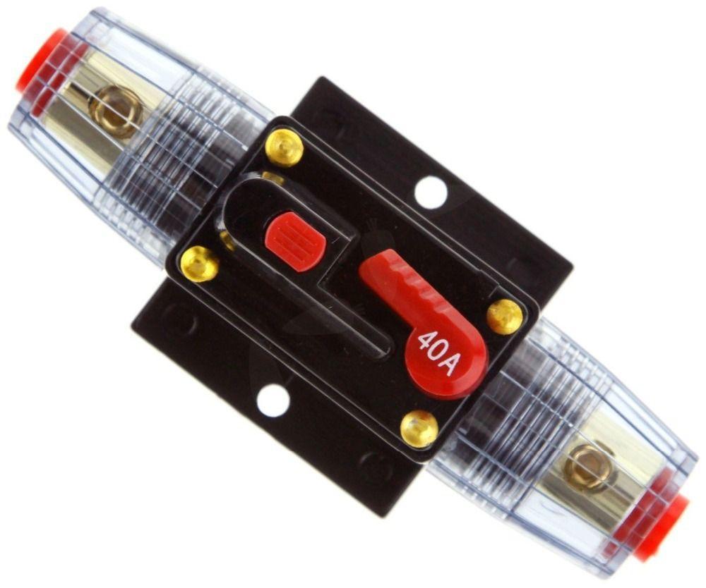 2018 40 amp in line circuit breaker stereoaudiocarrv 40a40amp 40 amp in line circuit breaker stereoaudiocarrv 40a40amp fuse 12v24v32v publicscrutiny Choice Image