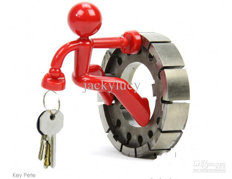 Delightful Novelty Wall Climbing Man Magnetic Key Holder Funny Key Pete Cartoon Keys  Hanging Fridge Magnets Home Decor Supplies New Arrival Funny Novelty Funny  Novelty ... Awesome Design