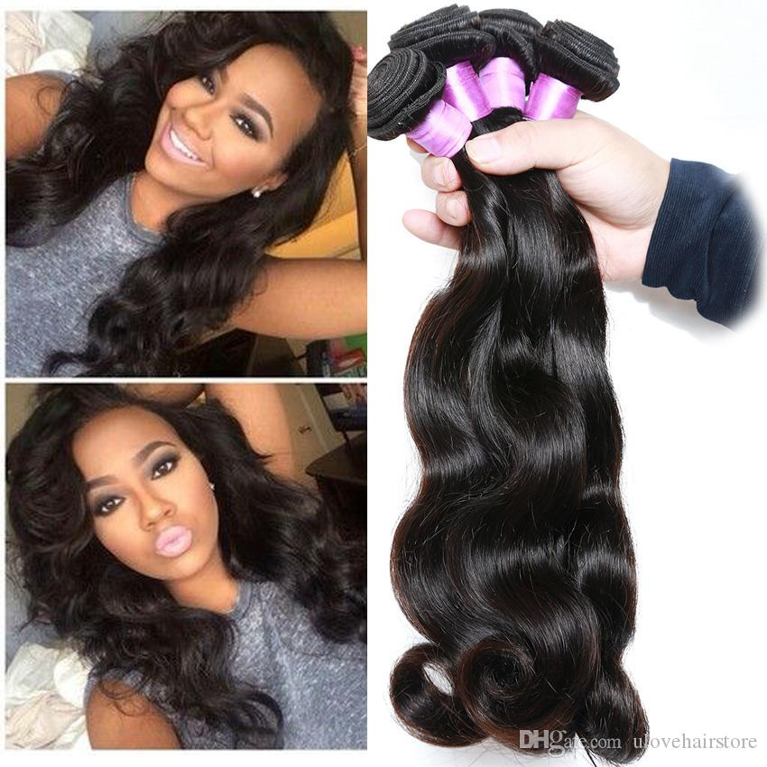 Beauty Forever Hair Products Malaysian Body Wave Unprocessed
