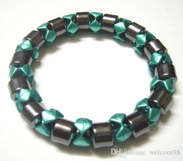 10 шт. / лот цвет смешивания магнитные здоровые браслеты для DIY Craft мода ювелирные изделия подарок 7.5 дюймов MG2