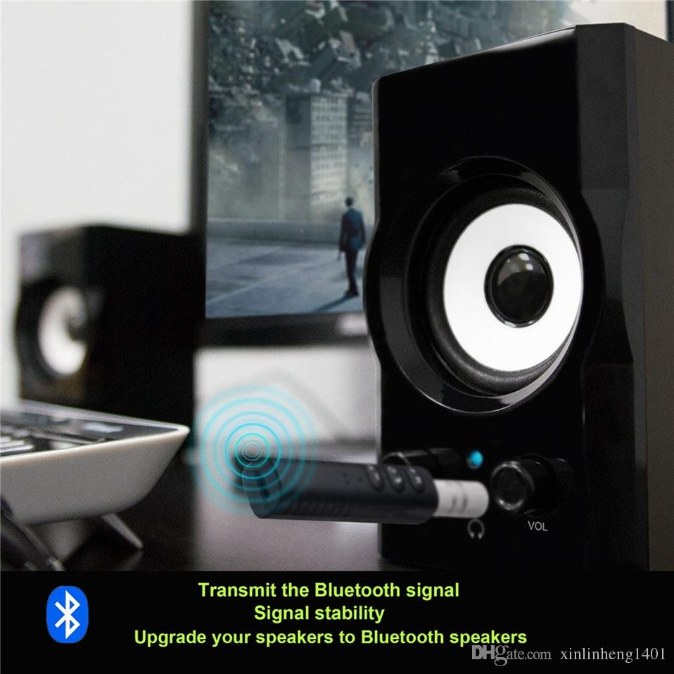 BT-301 Mini Récepteur Bluetooth Voiture AUX Audio Adaptateur Récepteur Sans Fil Appel mains libres et musique sans fil 3.5mm AUX