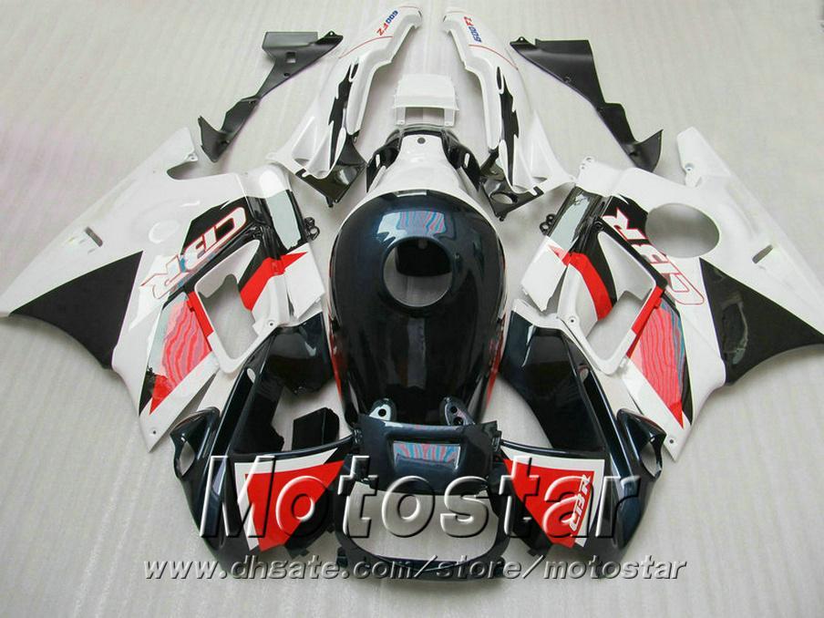 Free 7 Gifts fairing kit for HONDA CBR 600 F2 1991 1992 1993 1994 white red black fairings CBR600 91 - 94 motobike RF33