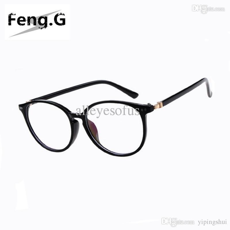 Großhandel Neue Ankunft Frauen Ringsum Ovale Brillenrahmen ...