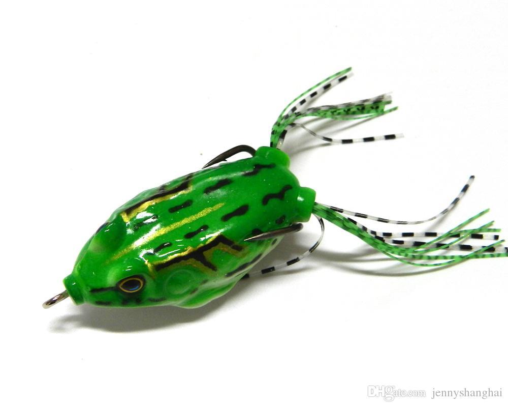 Kanca 5.5cm 12.5G yılanbaş Balıkçılık Yemler lures ile Hengjia 6adet Yumuşak Kurbağa Lure Plastik Kurbağa olta takımları