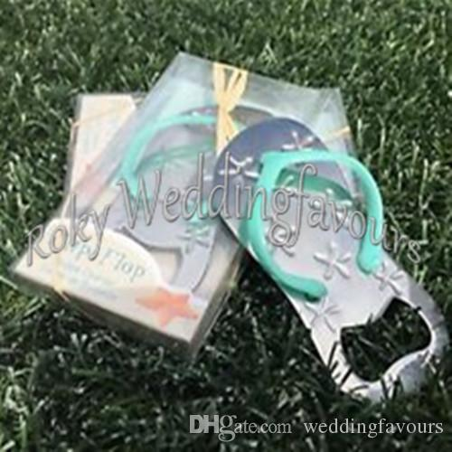 DHL !! Flip Flop Bottle Opener Wedding Favors,Beach Theme Bridal Shower Party Event Favors/wedding flip flops