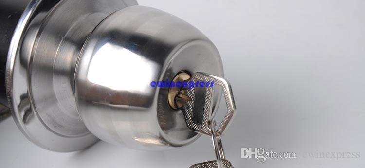 Manopole tonde porte in acciaio inox di alta qualità con finitura a caldo