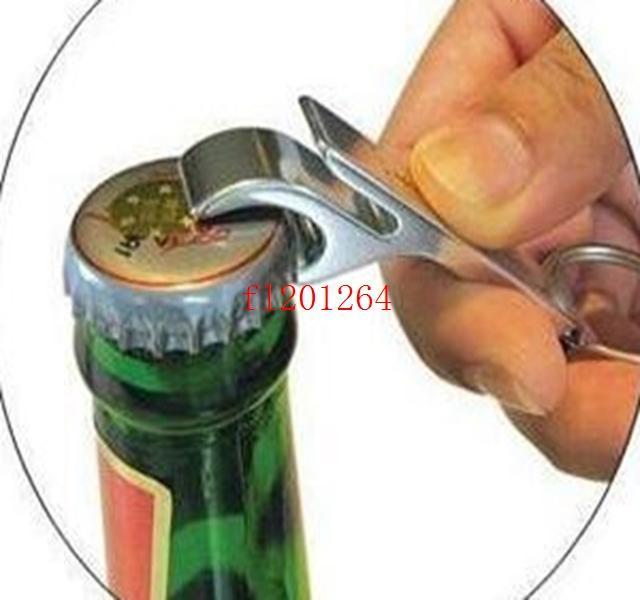 500 pz / lotto Trasporto Libero Nuovo Portachiavi In Metallo Beer Soda Lattine Apribottiglie Portachiavi Portachiavi Può Personalizzato LOGO / TESTO