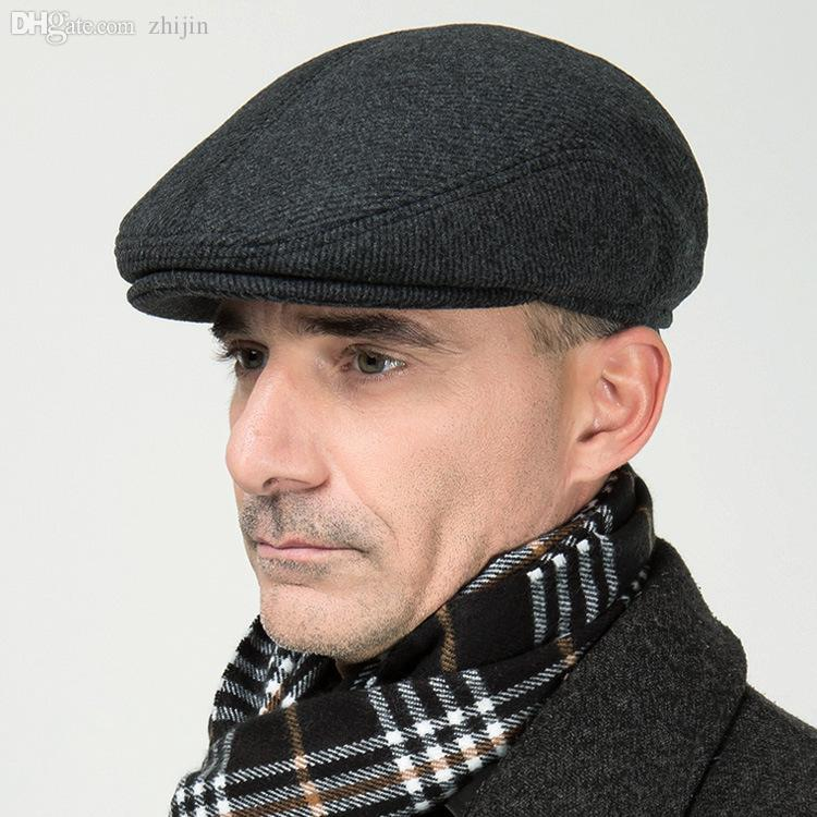2019 Wholesale Old Man Active Cotton Bucket Hat Outdoor Woolen Fabrics  Travel Cap Visor Hat With Earmuffs From Zhijin 3454c18e9ad9