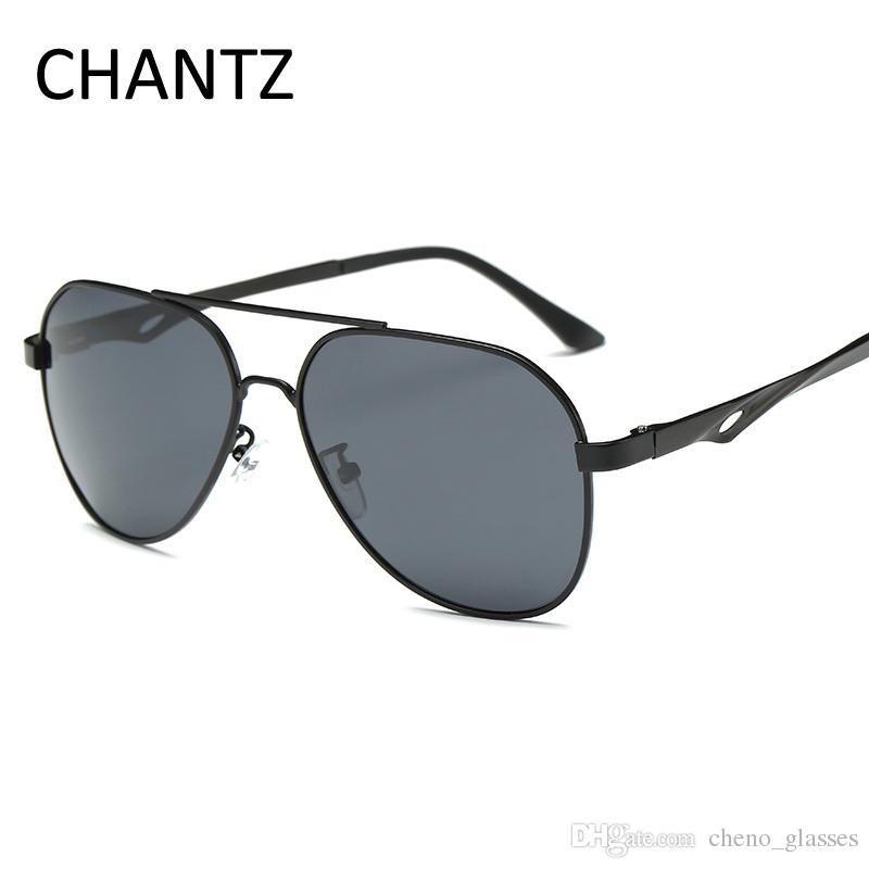 2a0a772748 Retro Oversized Sunglasses Men Polarized 2017 Brand Designer Men s ...