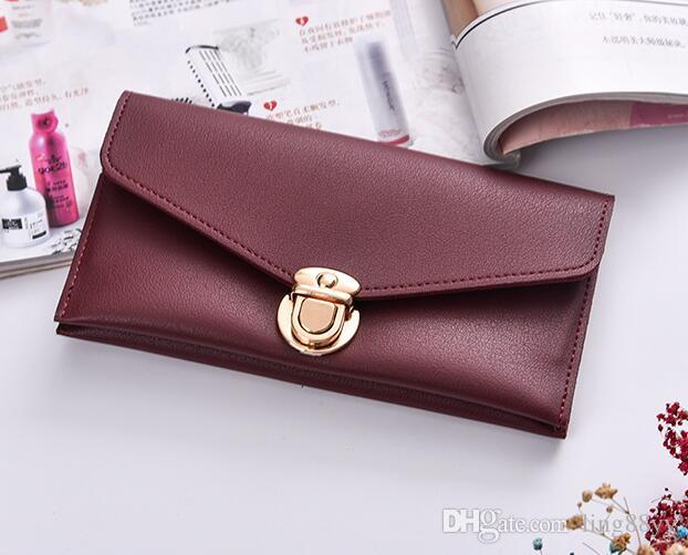 credit card holder zipper cheap luxury wallet women pu leather wallets lady ladies woman long purse cell phone pocket
