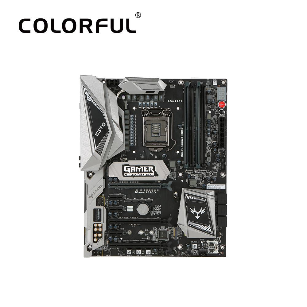 Colorful Igame Vulcan X Intel Z370 Lga 1151 Ddr4 Sata 6gb S Vga Geforce Gtx 1060 Nb Motherboard Atx 2 M2 Front Usb30 Way Sli Pro Gaming Online With 45787 Piece On