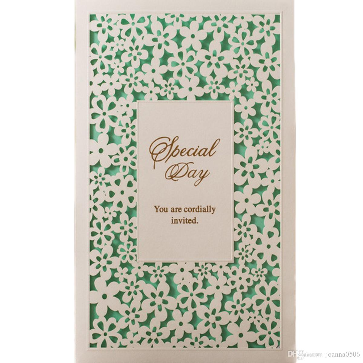 Laser cut wedding invitation cards with hollow for marriage bridal shower birthday party invitations sets with envelopes wedding invitation companies wedding invitation designer from joanna0506 4222 dhgate stopboris Choice Image