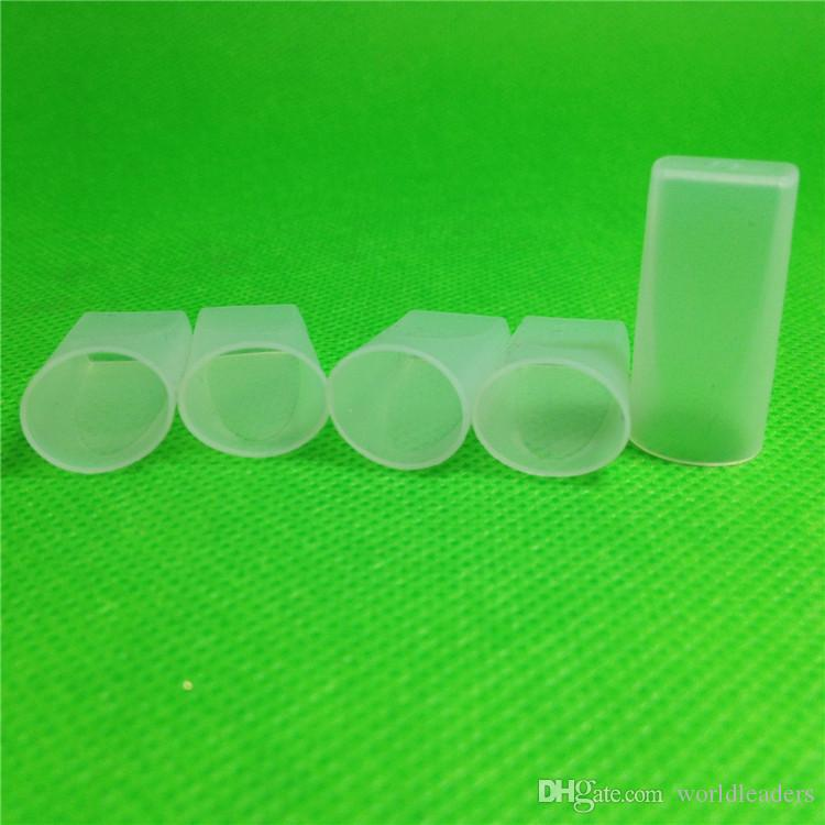 Type b hookah mouth tips test tips ego t cigarette filter tips atomizer ecig Test Drip Tips Atomizers Cap silicone test tip for ego-t ego w