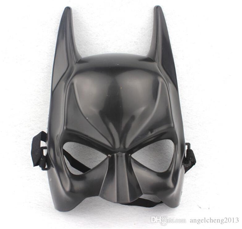Halloween Dark Knight Adulto Fiesta de disfraces Batman Bat Man Máscara Disfraz Un tamaño adecuado para la mayoría de los adultos y niños