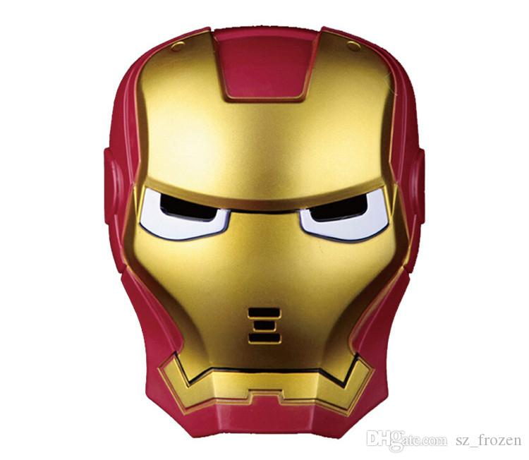 Haute Qualité LED Masque LED Film Masque de Bande Dessinée Lumineux Masque Glow Flash pour les enfants Parti De Noël Halloween Cosplay accessoires livraison gratuite