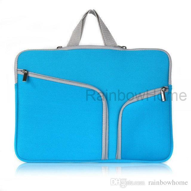 حقيبة كمبيوتر محمول ضئيلة حالة زيبر حقيبة كم الحقيبة حقيبة للماك بوك اير برو الشبكية 12 13 15 بوصة حقيبة التخزين حقائب السفر دائم