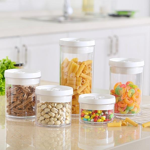 2018 5 Sizes / Set, Airtight Canister, Storage Jars And Cans For Food,  Snacks, Sealed Cans, Sealed Bottles, Sealed Jars For Kitchen From Ybf662,  ...