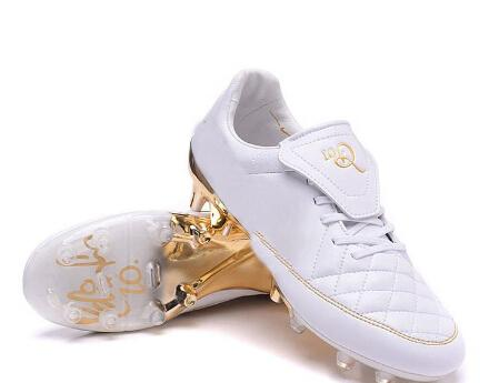 728e0dc6110 2019 Tiempo Air Legend R10 10R Touch Of Gold Ronaldinho Soccer Cleats  Football Boots Outdoor Sports Shoes White Gold FG Studs Synthetic Leather  From ...