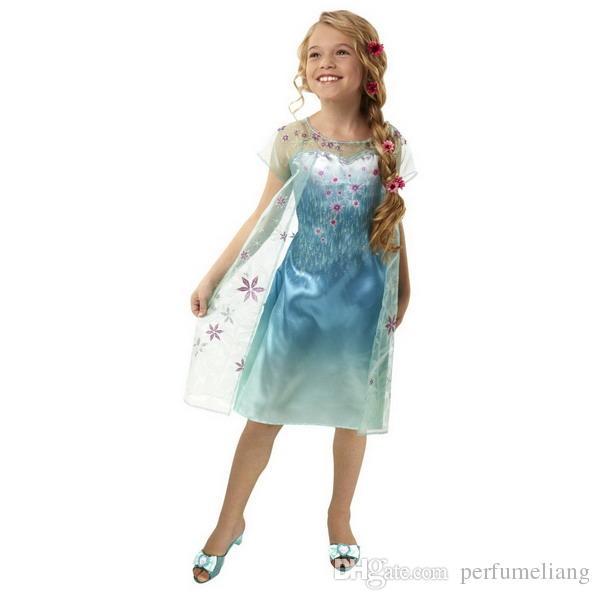 A elsa dress long cape