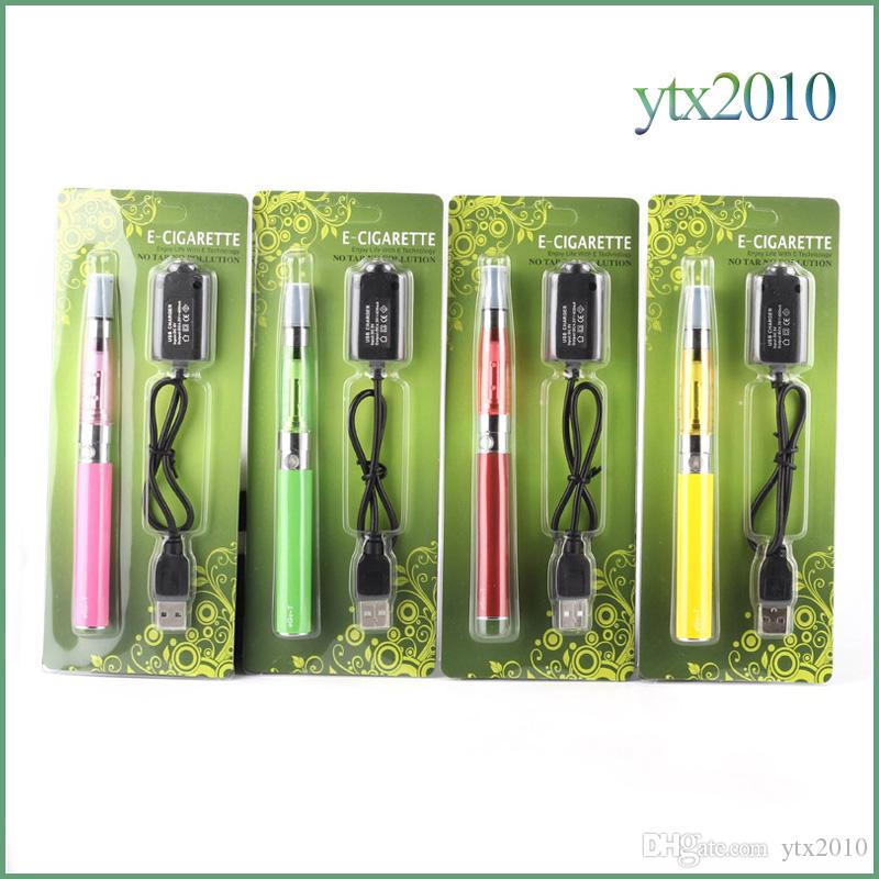 Ego ce5 Ego t Battery Blister Kit 1.6ml no Wick Electronic Cigarettes Vaporizer 650mah 900mah 1100mah E Cig kit