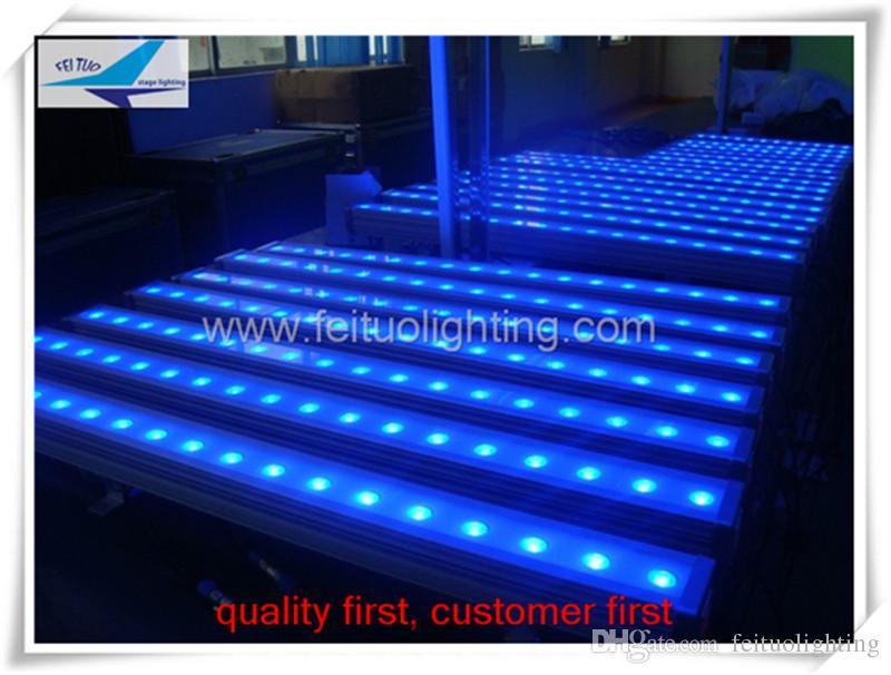 gabituo beleuchtung bühne beleuchtung 18x3w rgb outdoor led wall washer dmx led-licht im freien