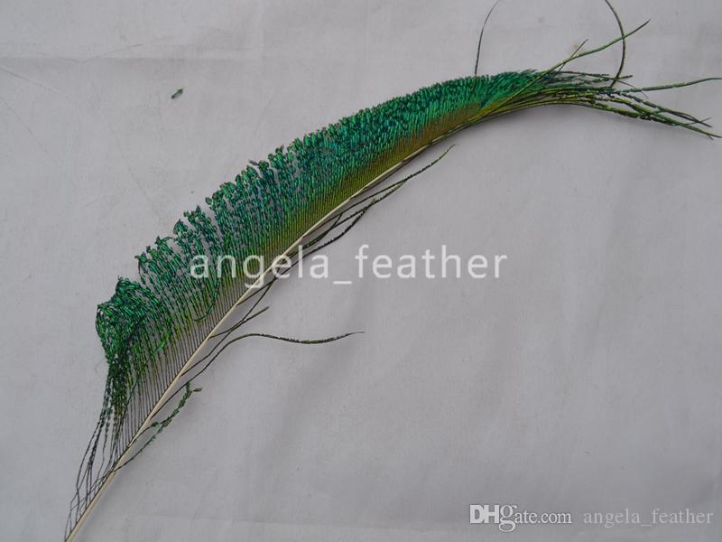 High quality Natural Peacock side Feather vase decoration wedding decoation festival party supplies DIY