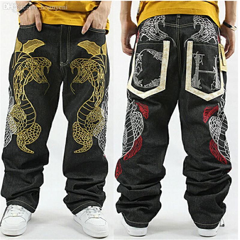 2019 Wholesale American Style 30 44 Loose Pants Baggy