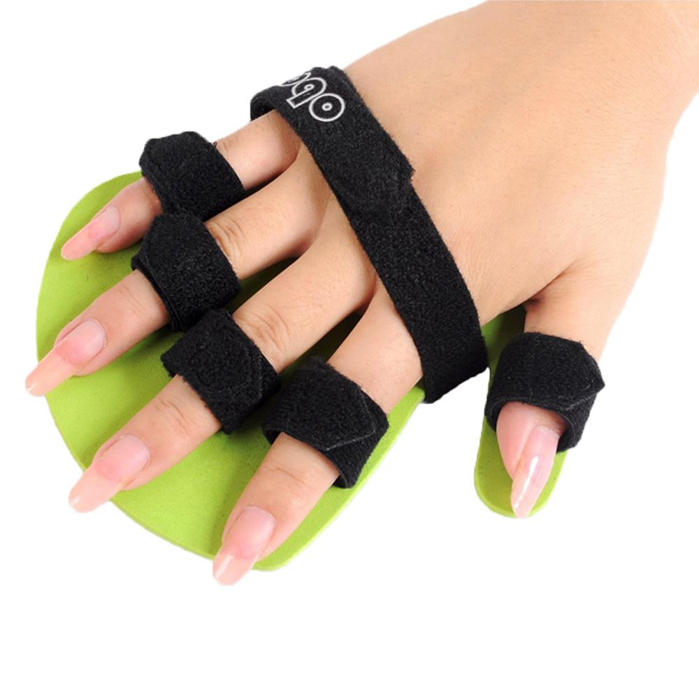 Hand Orthosis Separate Finger Flex Spasm Extension Board Splint Apoplexy Hemiplegia Right Left Men Women