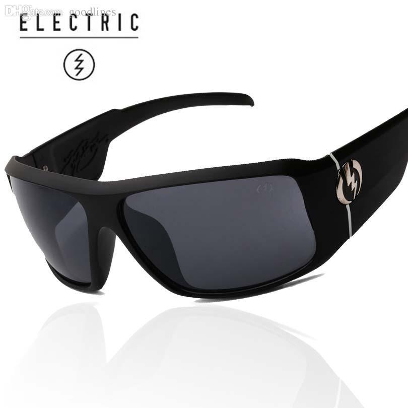 Compre Al Por Mayor Hombres Gafas De Sol De Moda Gafas De Sol Deportivas  Hombre Mujeres UV400 Gafas De Sol Gafas Gafas De Sol ELECTRIC Gafas  LOGOTIPO A ... 58af74f04c76